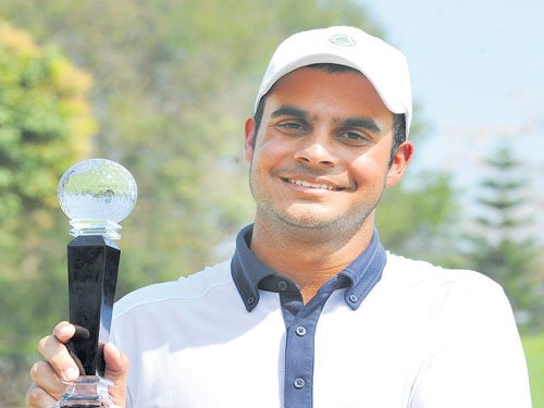 Sharma scorches course to bag title