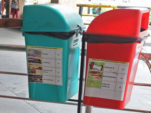 Residents, civic workers not following waste segregation rule
