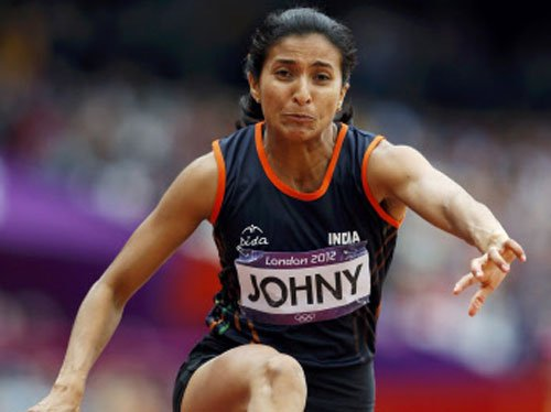 Mayookha wins gold in Asian Indoor Athletics