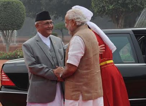 India, Nepal talk it out; No 'misunderstandings' now, says Oli