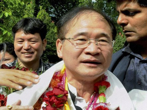 Tuki lashes out at RSS, BJP, says Cong govts in NE targeted