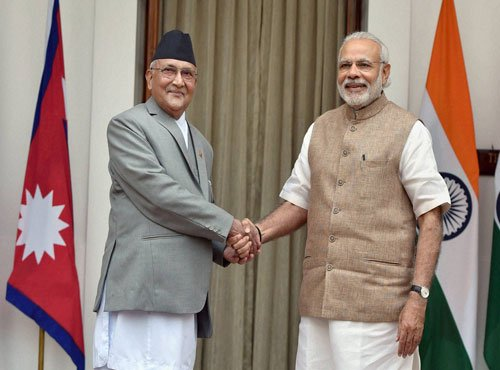 India, Nepal try to mend fences; Nine agreements signed