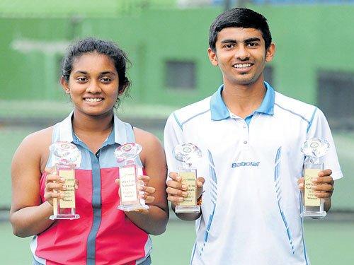 Megh, Shivani triumph