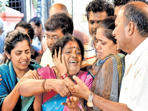 Harish died of heart attack: IPS officer's father