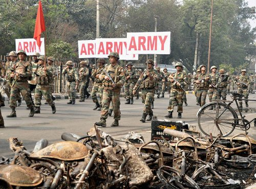 Jat violence spreads; 5 more killed in firing