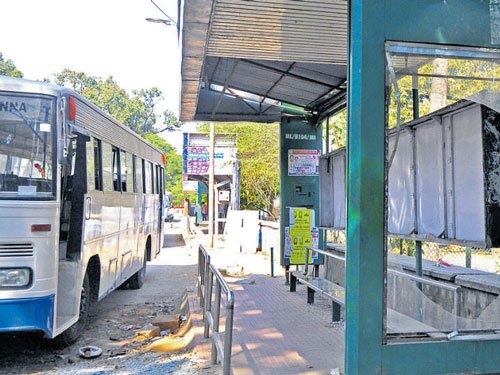 Bus shelters: Poor in design, use and maintenance