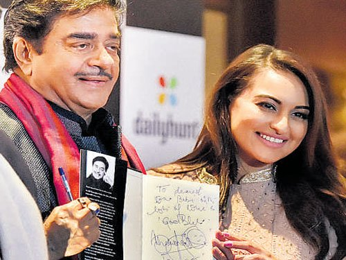 Sonakshi Sinha scared of reading through her father's biography