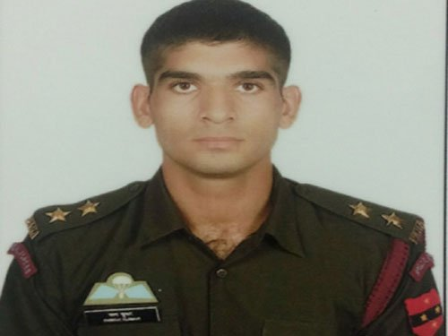 Army appeals to Haryana people on Captain's last rites