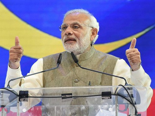 Farmers' income should double in six years: Modi