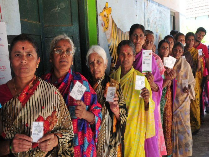 Voting up by 3 pc in TP, ZP polls