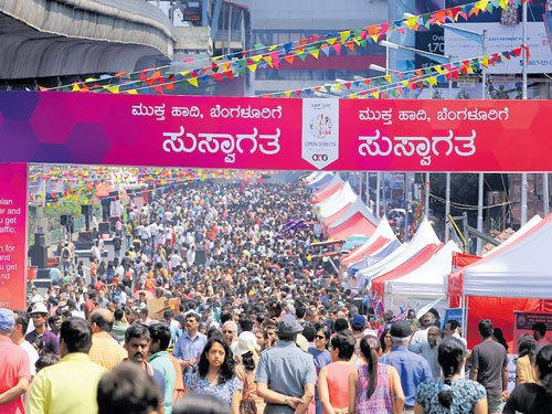 City opens up on car-free, carefree MG Road