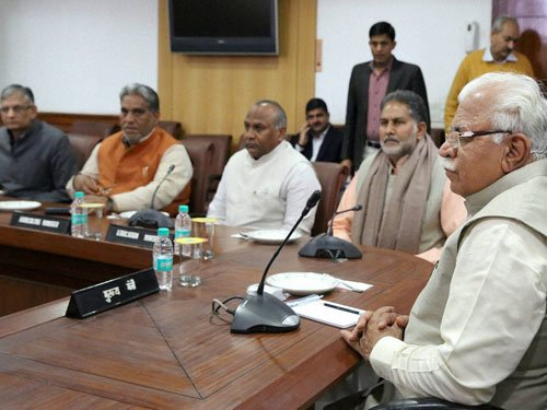 Haryana cabinet decides to bring bill on Jat reservation issue