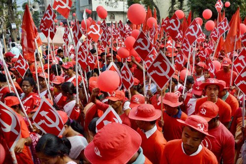 Left parties plan dharnas in State from today