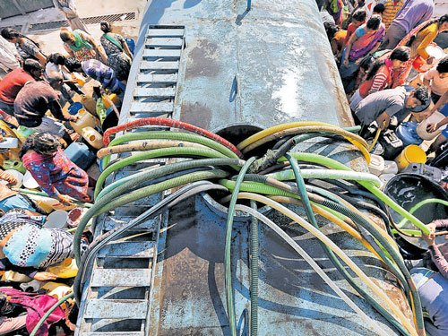 No end to Delhi water crisis