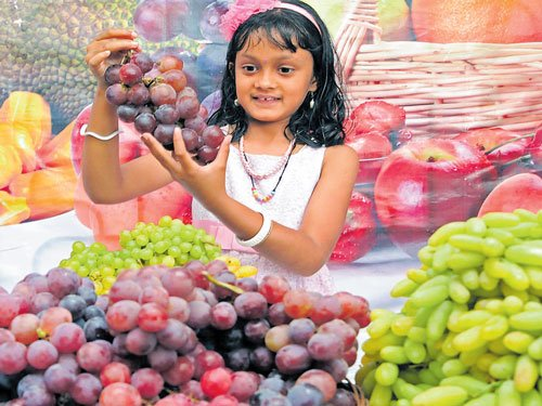 Relish tempting thirst busters  at the Lalbagh fruit fair