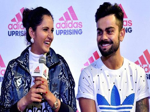 Sania, Kohli lead pack of 56 Indians in Forbes' Asia list
