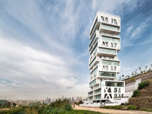 Beirut's stacked residential tower