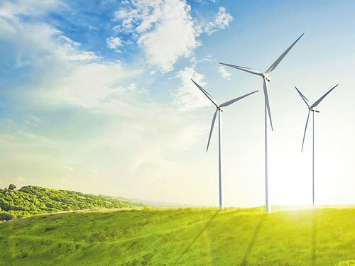 Scots high on wind power