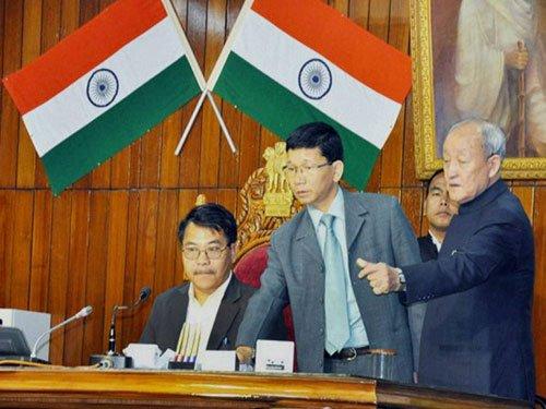 Kalikho Pul proves majority in Arunachal floor test