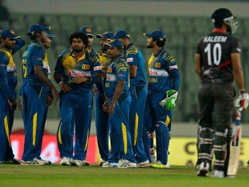 Sri Lanka survive UAE scare in Asia Cup