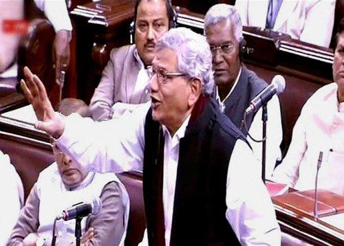 Sitaram Yechury likens BJP to Macbeth