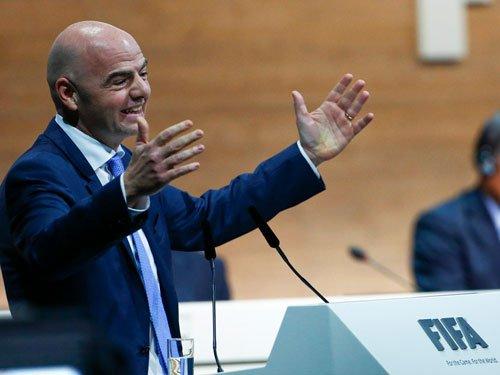 Gianni Infantino wins FIFA presidency