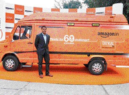 Amazon Tatkal van to enable SMBs in Bengaluru