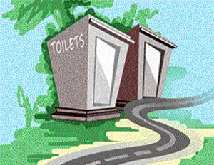 Use, maintain toilets in village  for Swachh Bharat Mission