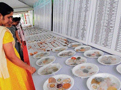 Ayurveda docs make 1,008 dishes of medicinal value