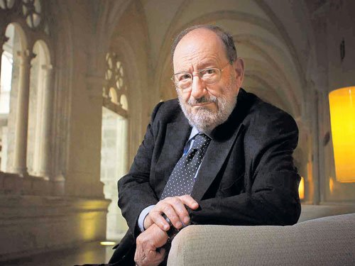 The reader in novelist Umberto Eco