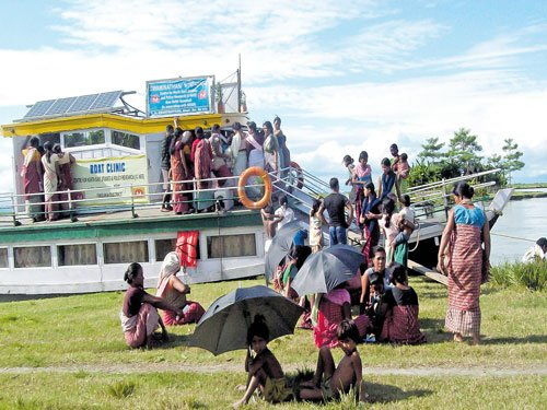 A boon for people living on islands