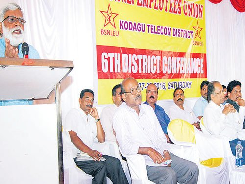 'Wrong govt policies have affected BSNL'