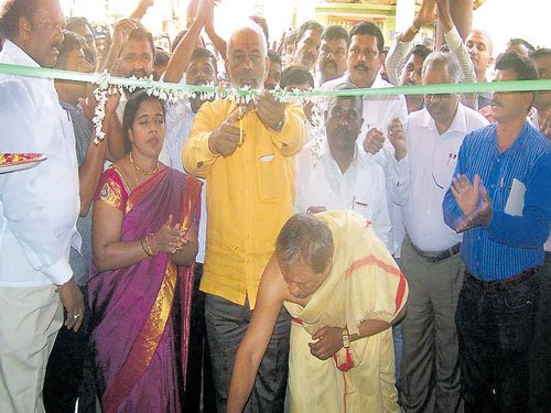 'Long-pending works of community halls will be completed soon'