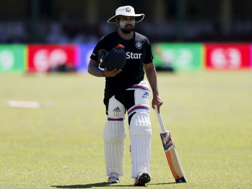 In-form Rohit Sharma taken for an X-ray