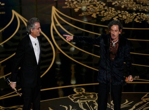 'Mad Max: Fury Road' leads in technical categories at Oscars