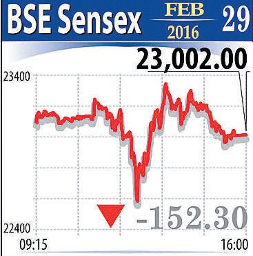 Union Budget fails to enthuse markets as it end in negative