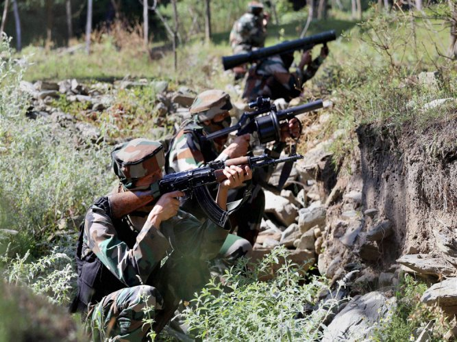 Three Hizbul militants killed in encounter in Kashmir