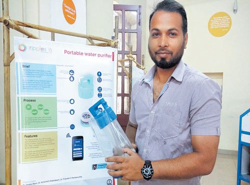 Now, purify water in bottle on the go