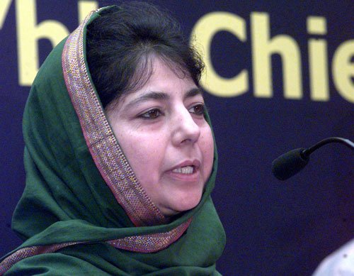 Alliance with BJP is like father's 'will': Mehbooba