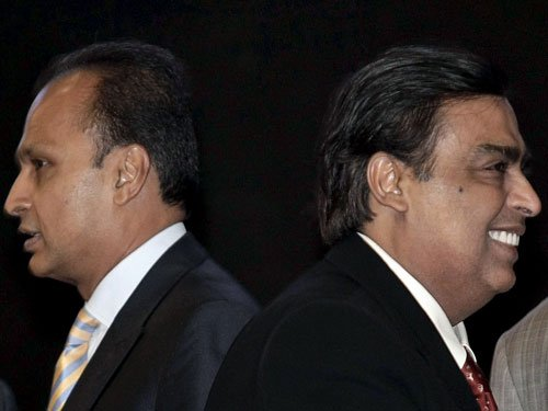 Ambani's $20 bln bet on TV, telecoms may rekindle wealthy brothers' rivalry