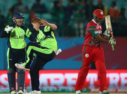 Resolute Oman register thrilling 2-wkt win over Ireland