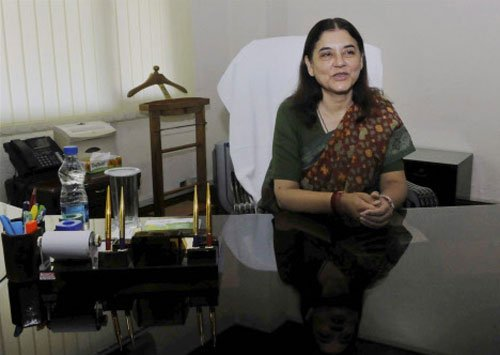 Concept of marital rape can't be applied in India: Maneka Gandhi