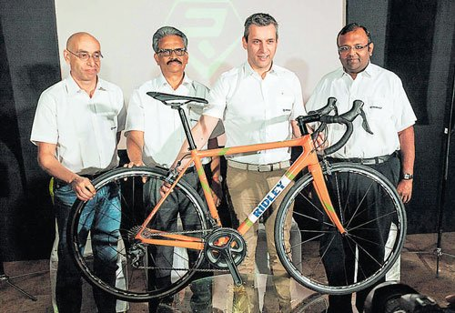 Ridley in India via tie-up