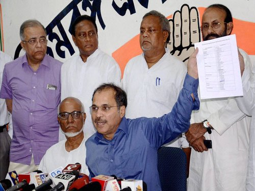 More than 90 per cent seats will have one-on-one fight: Adhir Chowdhury
