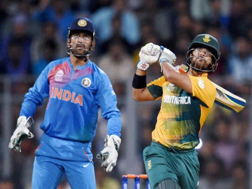 South Africa halt India's winning run in warm-up game