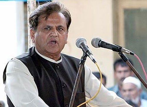 Don't preach nationalism, focus on work: Ahmed Patel to BJP