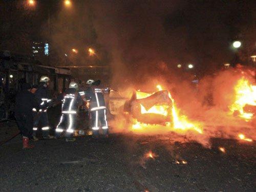 Turkey: Suicide car bombing kills 34 in central Ankara