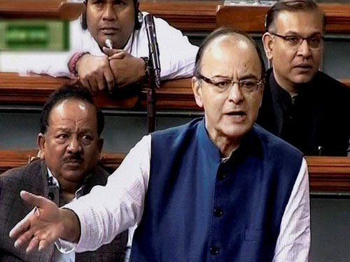 Prominent people concealing taxable income as agri earning: Jaitley