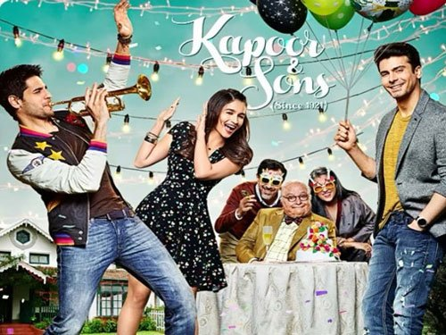 Kapoor & Sons' not a love triangle: Starcast   Deccan Herald