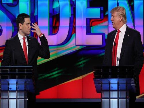 US presidential candidates talk like school kids: study